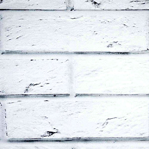 White brick cladding wall panels - Mattone Bianco by Vox.