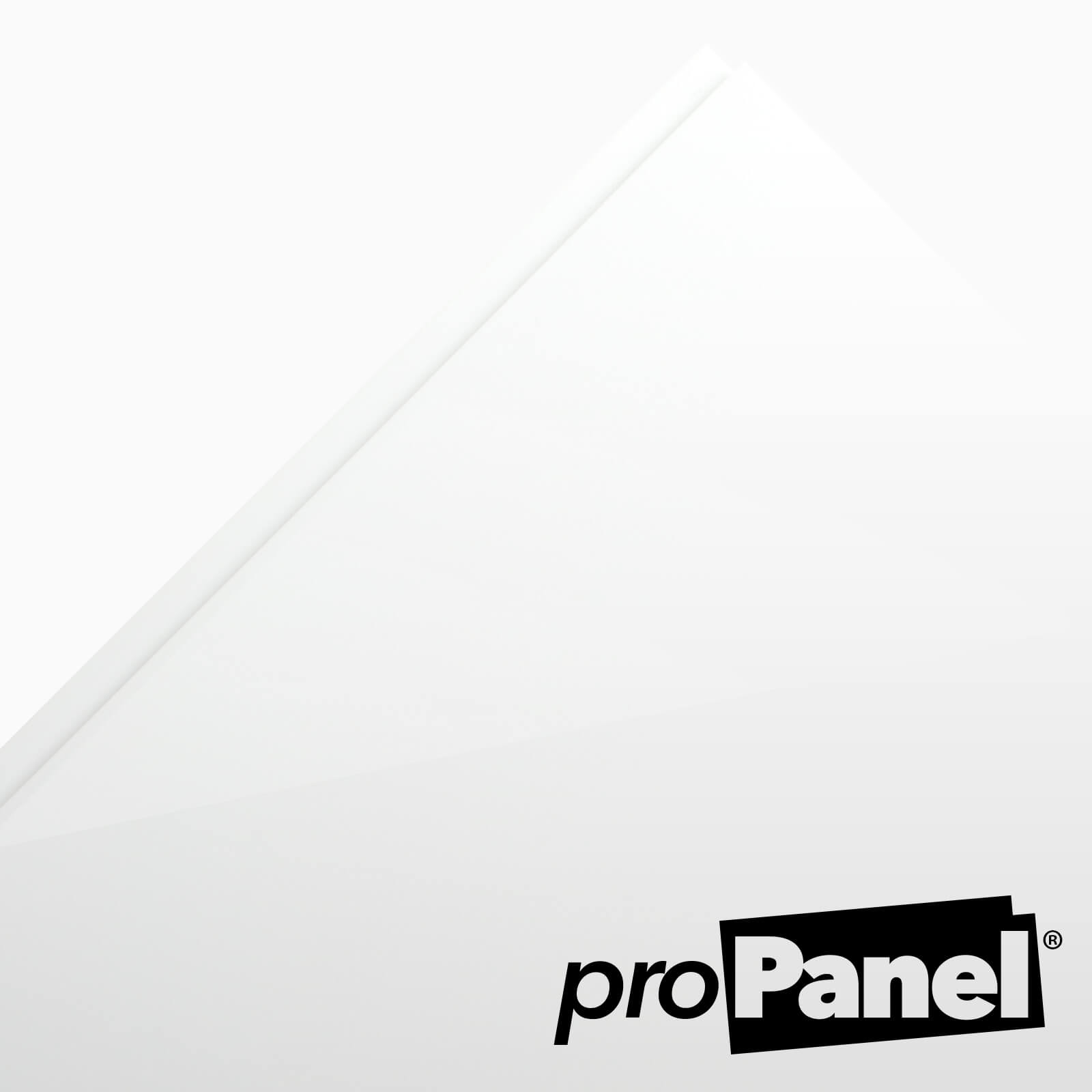 Gloss White Cladding 8mm x 250mm x 2700mm - Free Delivery Over £49
