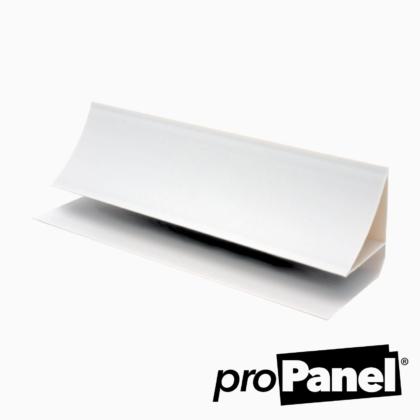 8mm White Coving PVC cladding trim