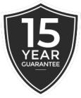 Showerwall 15 year guarantee