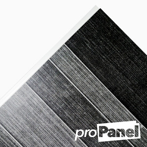 PROPANEL® 8mm small Modern Tile Anthracite Grey