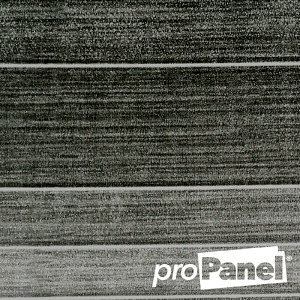 PROPANEL® 8mm small Modern Tile Graphite Grey close up