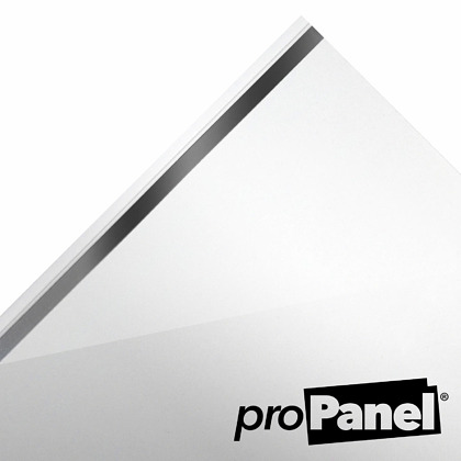 PROPANEL® Single Inlay Chrome 8mm