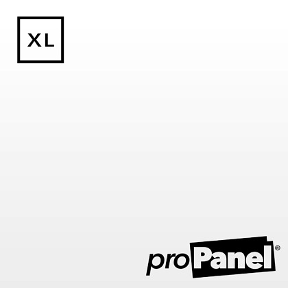 PROPANEL® XL 1m Wide Gloss White shower wall panel close up