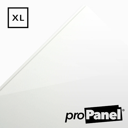PROPANEL® XL 1m Wide Gloss White shower wall panel