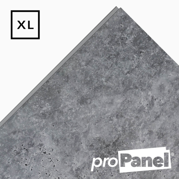 PROPANEL® XL 1m Wide Urban Concrete Matte Grey shower wall panel