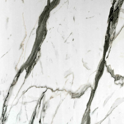 Close up sample of Bianco Carrara Showerwall