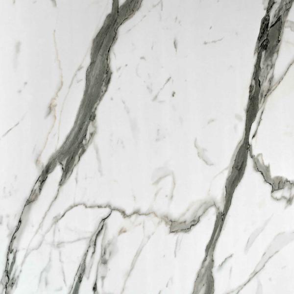 Close up sample of Bianco Carrara Showerwall