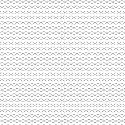 Close up sample of Geo Cube Acrylic Showerwall