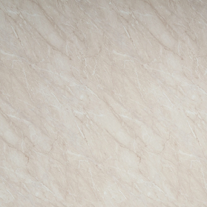 Close up sample of Ivory Marble Showerwall