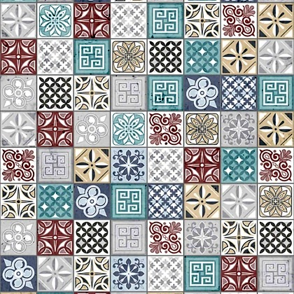 Close up sample of Moroccan Acrylic Showerwall