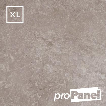 PROPANEL® XL 1m Wide Beige Concrete matte shower wall panel close up