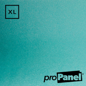 PROPANEL® XL 1m Wide Blue Quartz Gemstone shower wall panel close up