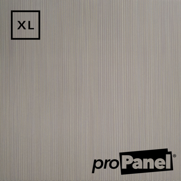 PROPANEL® XL 1m Wide Grey Linen shower wall panel close up