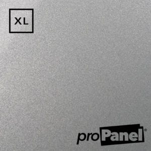 PROPANEL® XL 1m Wide Grey Quartz Gemstone shower wall panel close up