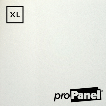 PROPANEL® XL 1m Wide White Quartz Gemstone shower wall panel close up