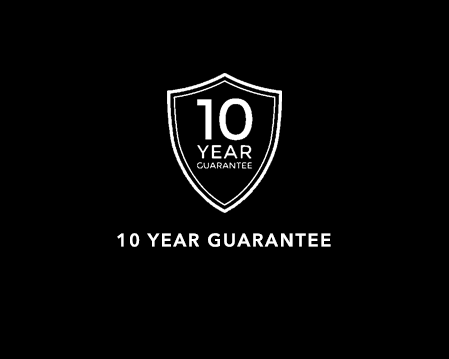 Showerwall Acrylic comes with a 10 year guarantee