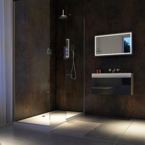 Urban Gloss Showerwall in a bathroom