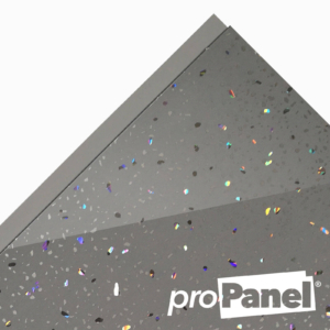 PROPANEL® 5mm Grey Sparkle close up