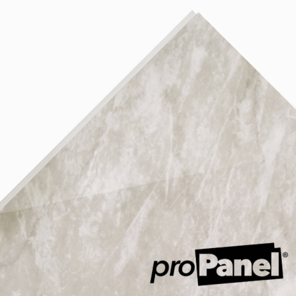 PROPANEL® 8mm Moreno Grey Marble close up