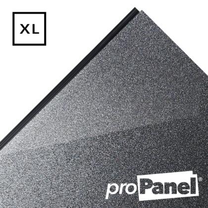 PROPANEL® XL 1m Wide Gunmetal Dark Grey gloss shower wall panel