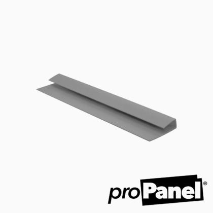 Grey 5mm end cap PVC trim