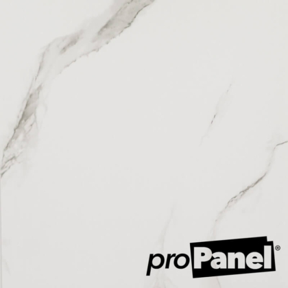 PROPANEL® 5mm White Marble close up