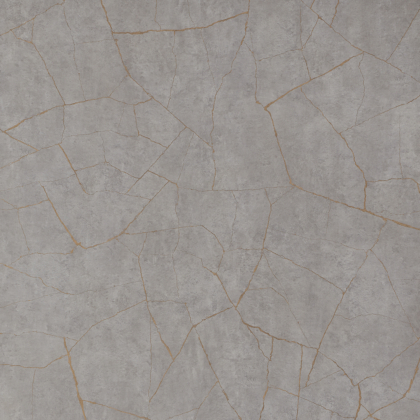 Close up sample of Gold Slate Showerwall